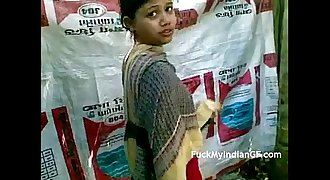 Amateur Indian Village GF Taking Shower Outdoor - FuckMyIndianGF.com