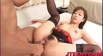 Miina Minamoto in mind deepthroating lingerie hardcore sex