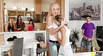 Gina Gerson, Kayla Green Soiree Over With Milf
