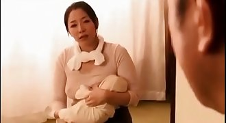 Japanese breast-feeding MILF's adultery - Pt2 On HdMilfCam.com