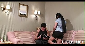 Sexy darling is monang insanely as she gets xxx doggystyle