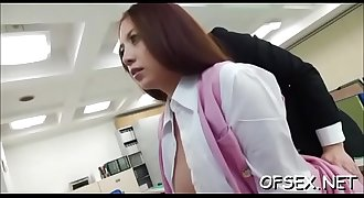 Real perverted sex scene in the workplace during work hours