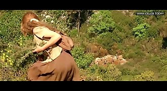 Emmanuelle Beart - Naked in the Woods, Utter Frontal - Manon Des Sources ( 1986)