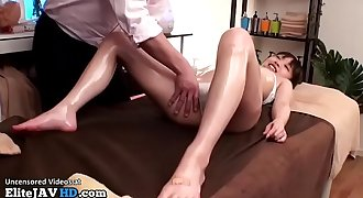 Japanese massage with 18yo turns weird part 2 - More at Elitejavhd.com