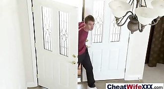 Sexy cheating Wife (kassondra raine) Enjoy On Camera Hard Hookup Act movie-13