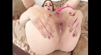Violet Monroe anal black creampie