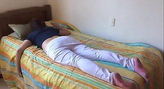 Teenager sister fucked while sleeping