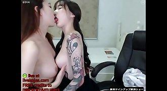 Korean BJ sexy lesbians - Live at livekojas.com