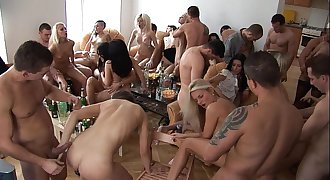 Soiree Girls Sucking and Fucking their Friends