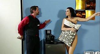 Chesty Jasmine Jae Gets Off While Mercedes Carrera Cums Next Door