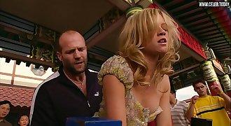 Amy Smart - Graphic public Sex Scene, Braless   Underwear - Crank (2006)