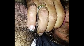Hooker takes cum in mouth