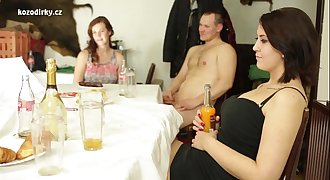 Awesoem orgy with czech titty teenagers