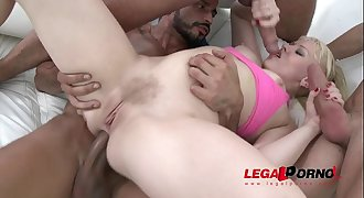 Lola Taylor brutal anal humiliation with DP, DAP & DVP (double pussy) SZ950