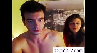 Pretty Chick With Big Knockers  Cum24-7.com