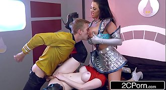 Captain D & Starfleet Officer Zara DuRose Educate Sexy Alien Brooklyn Blue