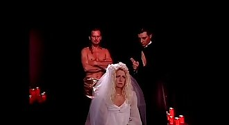 Sexual sacrifice of a bride fucked by pervert priest
