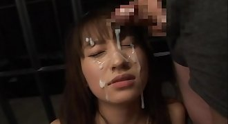 Japanese girls bukkake facial blowjob cumshot compilation 2/ japanfunnymedia.com
