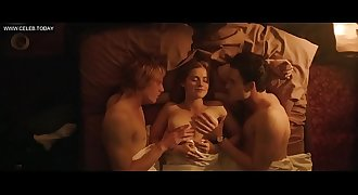 Marie Tourell Søderberg - Danish girl, Explicit Sex Scenes - Steppeulven (2014)