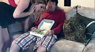 Horny MILF seize a sausage salad