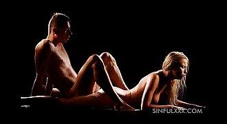 Sinfulxxx.com wet voluptuous couple sex