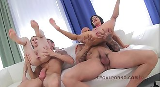 LEGALPORNO FULL SCENE - Timea & Sandra 2 sluts on 2 mushy