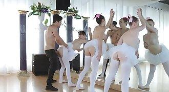 Three Ballerinas Fucked By Teacher