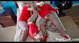 CHRISTMAS MORNING SEX WITH MY STEPDAD
