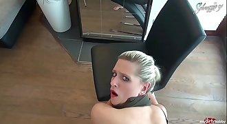 Blinddate Mistake! Dual Cumshot For Blonde German Schnuggie91!