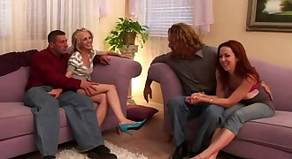 Group sex scene