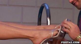 Jasmine Rouge - Foot Fetish Daily