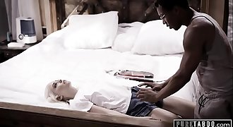 Unspoiled TABOO Blind Teen Tricked into IR Creampie by Fake Doctor