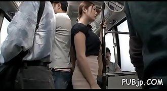 Hawt schoolgirl loves public sex in the middle of a educate