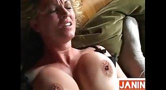 MILF Janine Lindemulder fucked hard