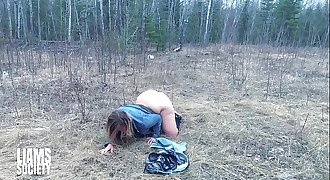 I Creampie Her Cunt in the Back Woods - Liam's Society Sex Video