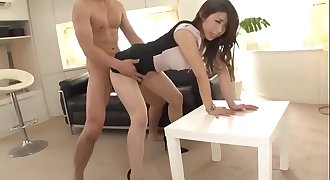 clothed office secretary pantyhose japan