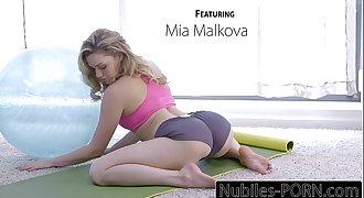 Nubiles-Porn Mia Malkovas Yoga Fuck - Utter VIDEO