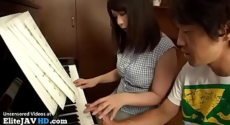 Japanese piano teacher fucked by student - More at Elitejavhd.com